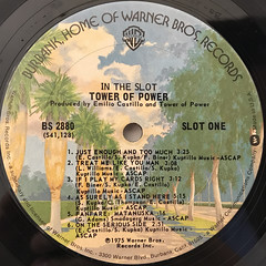 TOWER OF POWER:IN THE SLOT(LABEL SIDE-A)