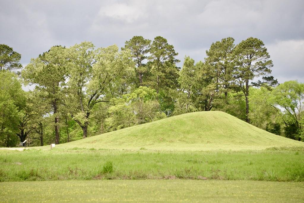 Caddo burial mound
