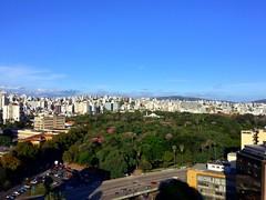 Parque da Redenção visto do hotel.
