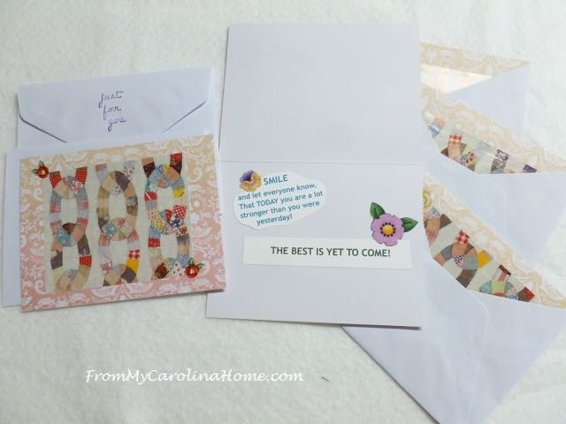 Elaine's Cards ~ From My Carolina Home