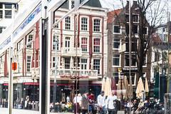 Amsterdam Leidseplein in the Mirror