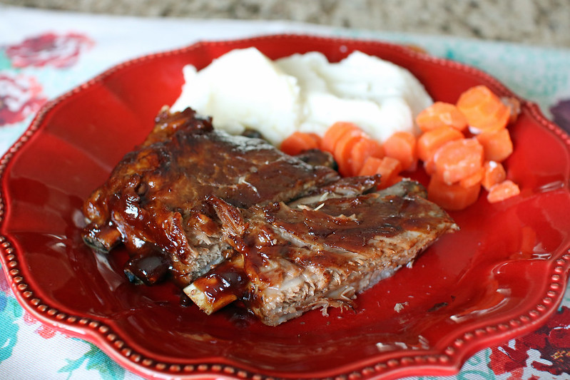 Instant Pot Honey Garlic Pork Ribs. Fall-off-the-bone tender pork ribs cooked in the pressure cooker make these Instant Pot honey garlic pork ribs a meal the whole family will devour!