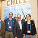 Marcelo Solari, Felipe Espinoza, Cristian Cifuentes y Laura Mateo