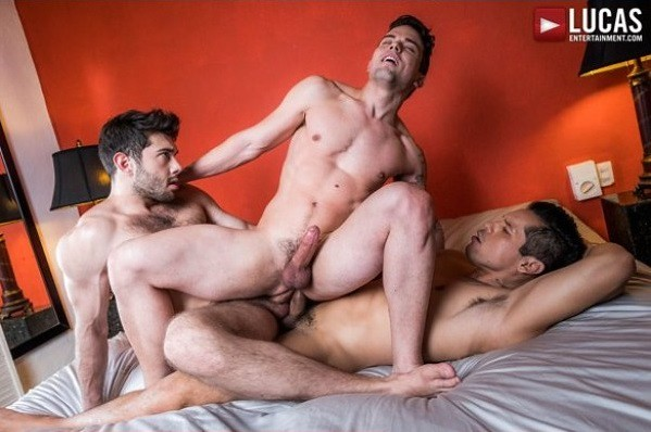 Andy Star with Donato Reyes & Frank Tyron