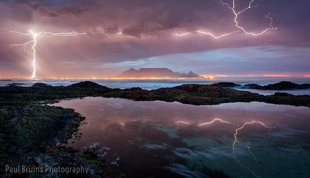 Framed by Lightning