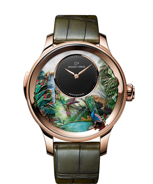 Jaquet Droz Tropical Bird Repeater Watch - Front