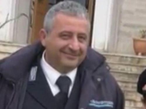 Vicecomandante Francesco Pierri carcere Vallo della Lucania
