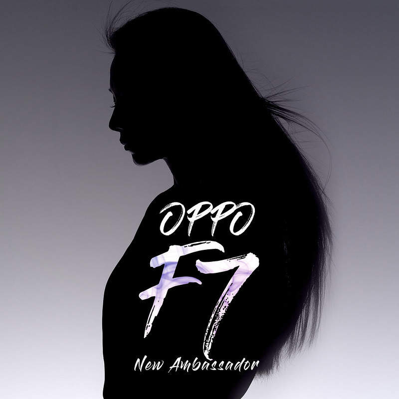 Take a moment to guess who's the new product ambassador of OPPO F7