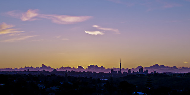 Purple Sunset, Pentax K-7, smc PENTAX-FA 50mm F1.4