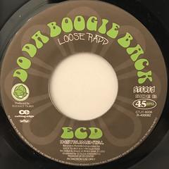 ECD:DO THE BOOGIE BACK(LABEL SIDE-B)