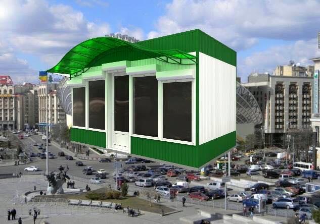 новый проект Дома профсоюзов 14