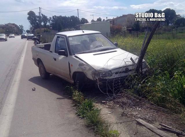 Τροχαίο ατύχημα στη Νέα Κίο