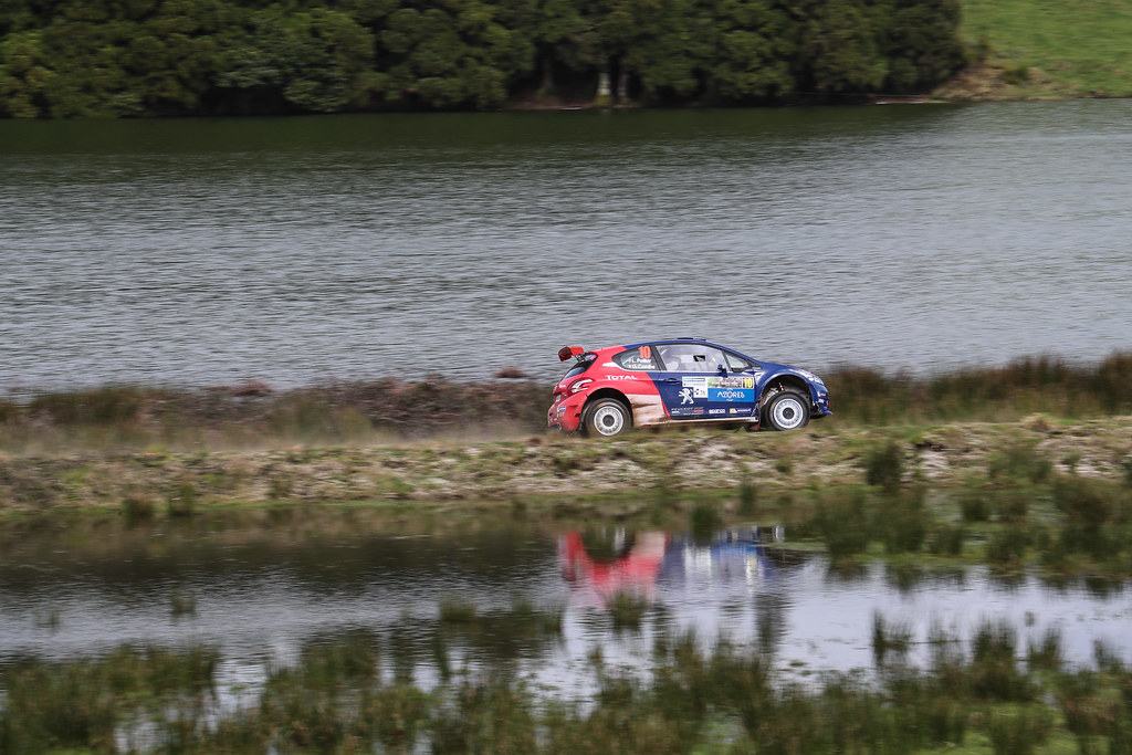 10 PELLIER Laurent (fra), COMBE Geoffrey (fra), PEUGEOT RALLY ACADEMY, PEUGEOT 208 T16, action action during the 2018 European Rally Championship ERC Azores rally,  from March 22 to 24, at Ponta Delgada Portugal - DPPI