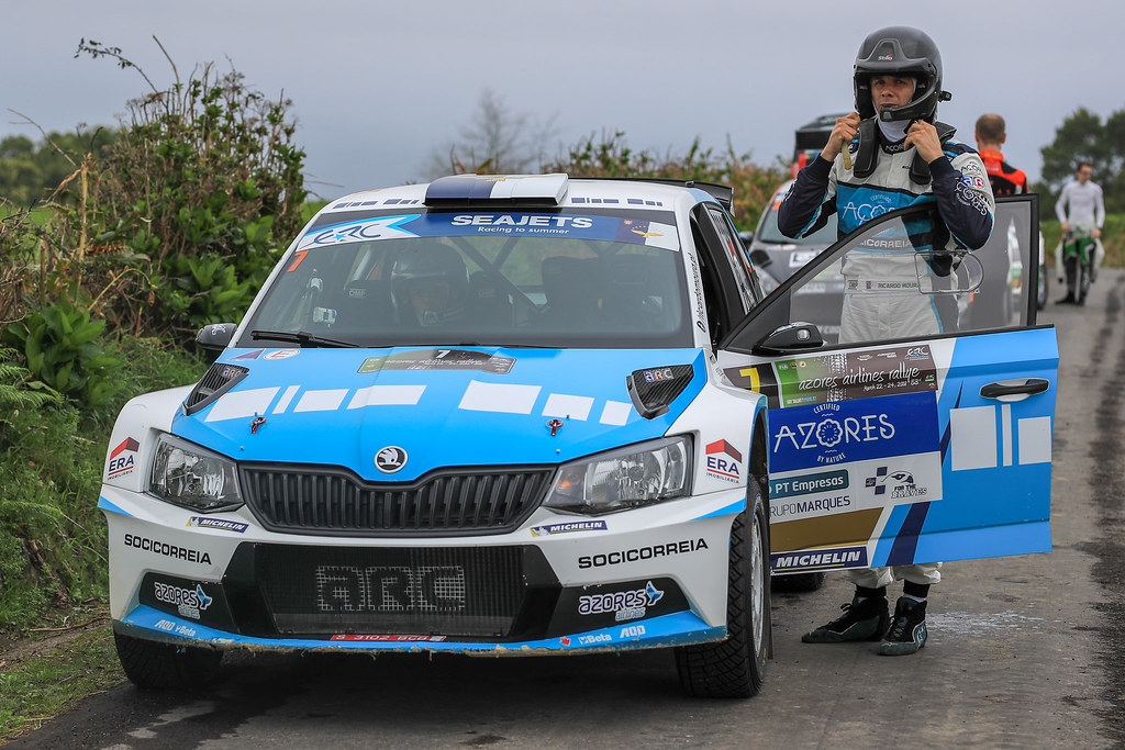 07 MOURA Ricardo (prt), COSTA Antonio (prt), FORD FIESTA R5, portrait during the 2018 European Rally Championship ERC Azores rally,  from March 22 to 24, at Ponta Delgada Portugal - Photo Jorge Cunha / DPPI