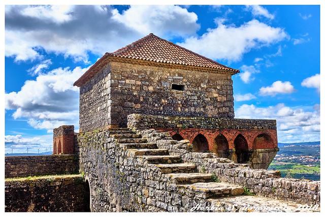 Remnants of Ourem Castle.