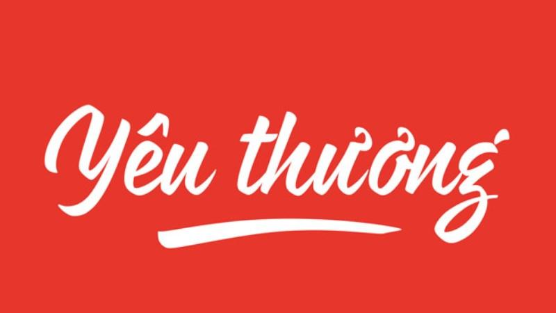 font chữ Việt đẹp