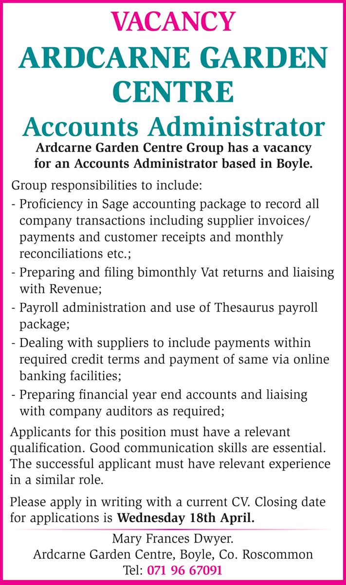 Accounts-job-vacancy