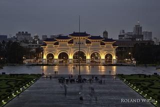 Taipeh - Chiang Kai-shek Memorial Hall