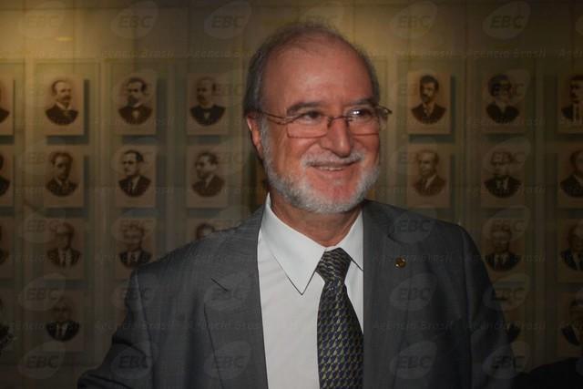 """Eduardo Azeredo, do """"mensalão tucano"""" e da Lista de Furnas, na Câmara dos Deputados em 2014 - Créditos: José Cruz/Agência Brasil"""