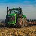 Ploughing in mud   JOHN DEERE // KVERNELAND