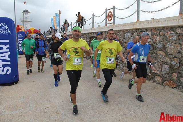 Alanya Ultra Trail yarışı yapıldı-5