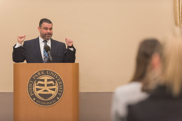 PA Secretary of Education Pedro Rivera comes to campus