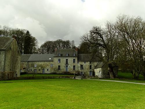 Au château de Hoyoux