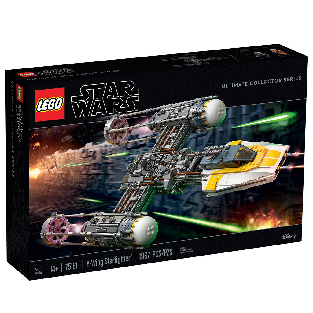 LEGO Star Wars 75181 - Y-Wing Starfighter UCS