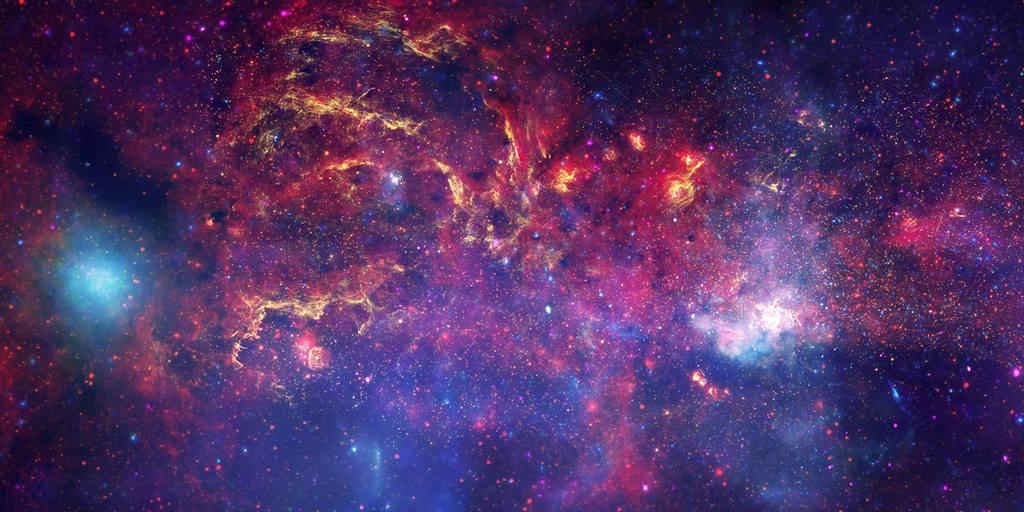 Un essaim de trous noirs pourraient se cacher au centre de notre galaxie