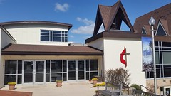 This morning we attended the Middletown United Methodist Church in Frederick County with Pastor Sarah Dorrance. 8Apr2018