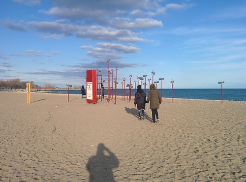 Revolution (3) #toronto #winterstations #beaches #woodbinebeach #revolutiom #publicart #latergram