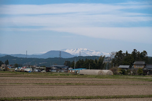 Early spring Mt.Kurikoma.