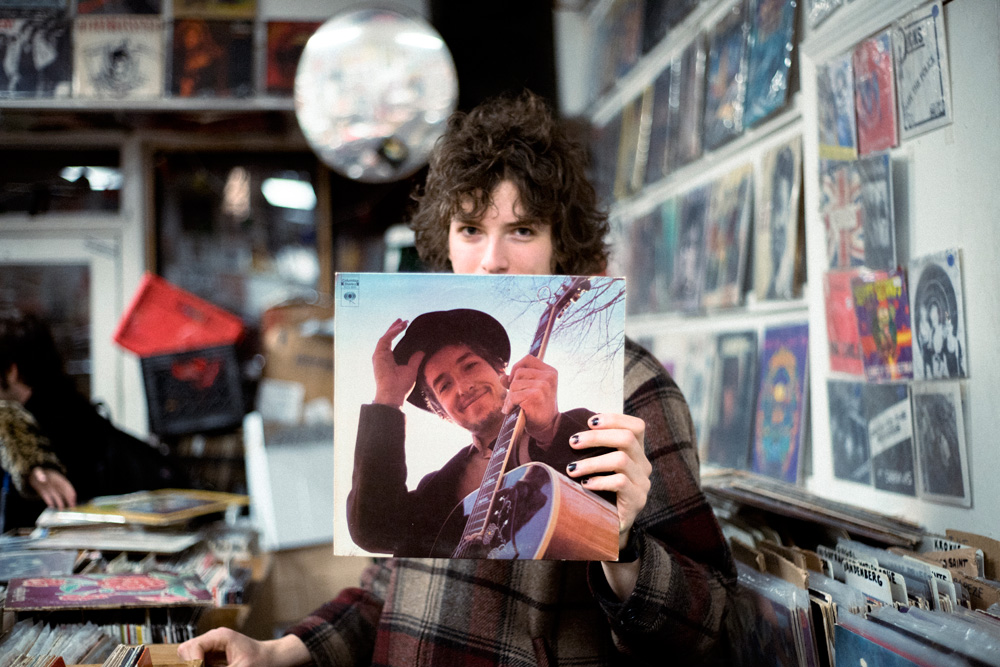 Record Shopping with Sunflower Bean
