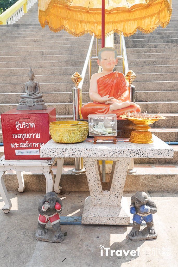 华欣景点推荐 考佬寺Wat Khao Takiap (10)