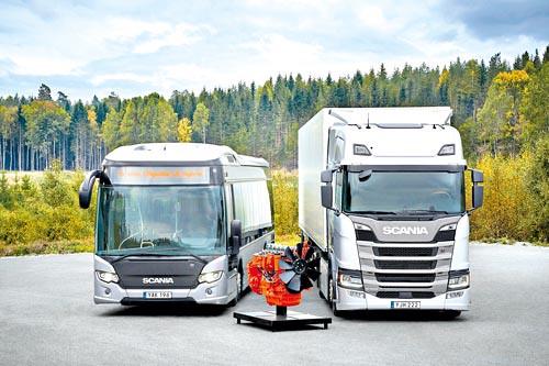 Коммерческие автомобили Scania