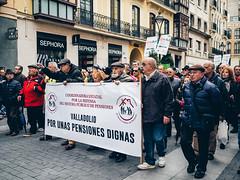 Pensiones dignas - Valladolid