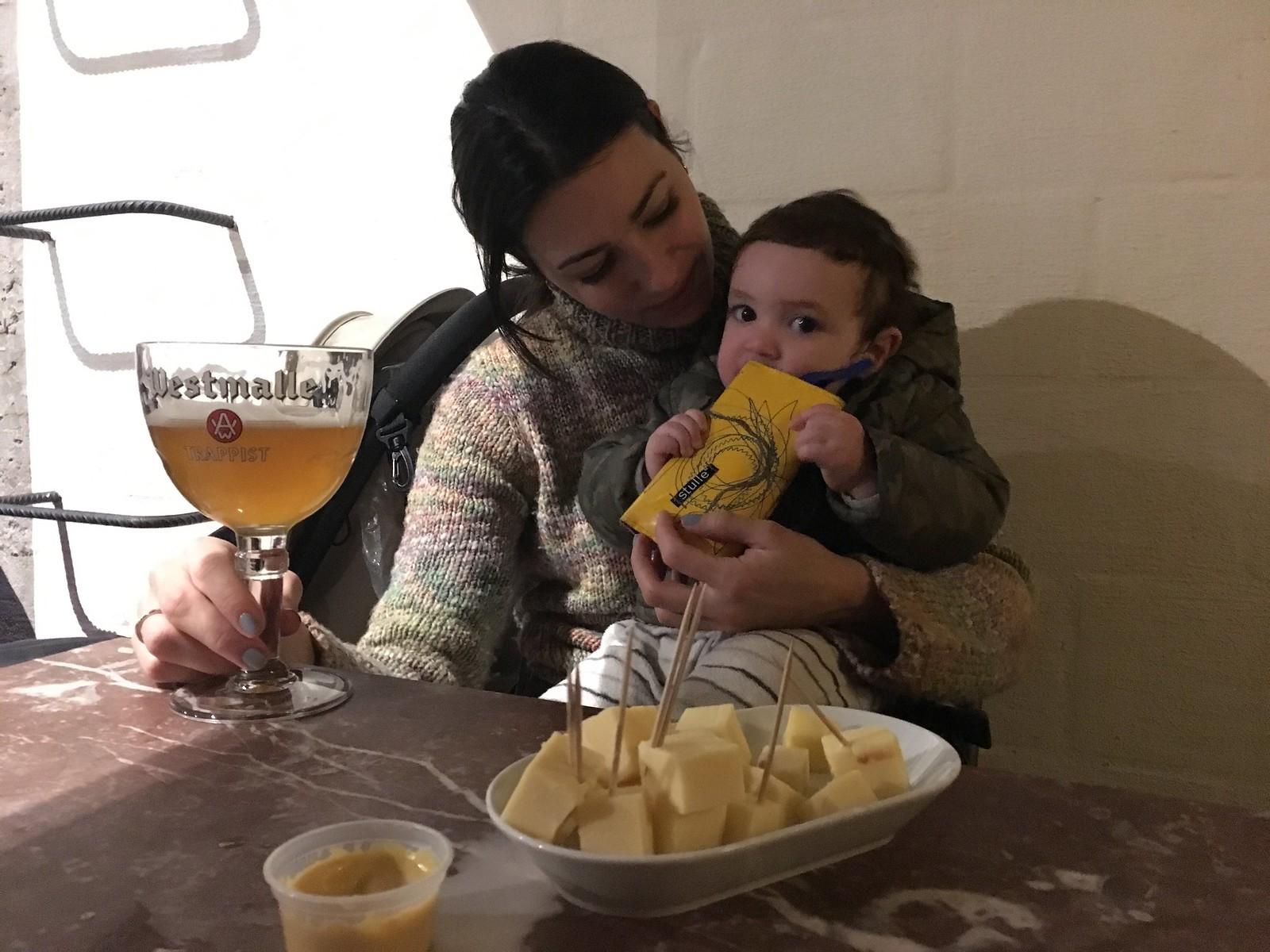 Cerveza + queso = combinación ganadora
