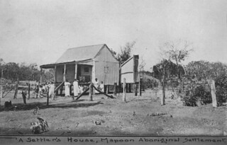 Settlers house on Mapoon Presbyterian Mission 1916
