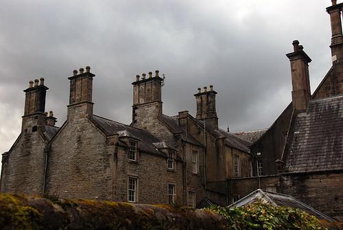 Mansion at Killarney National Park in Ireland