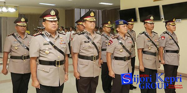10 Pejabat Polda Kepri yang beralih jabatan