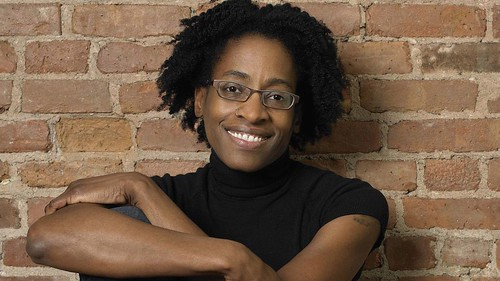Jacqueline Woodson, by Marty Umans