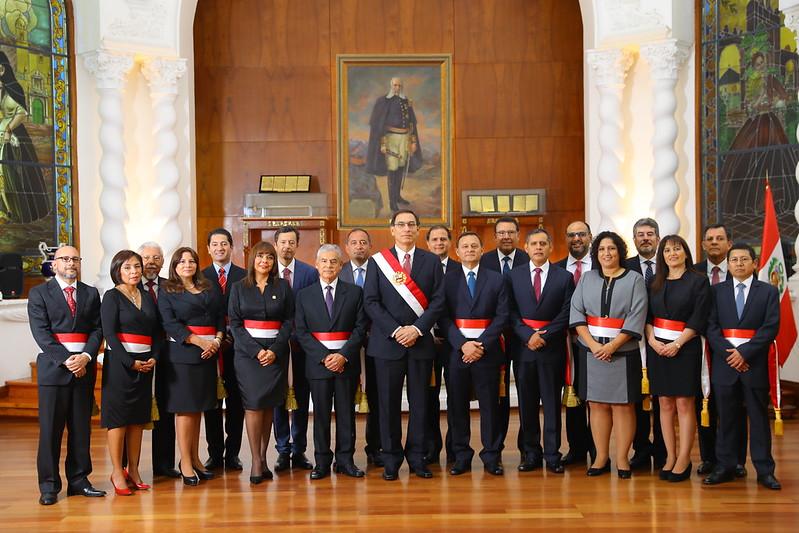 Ceremonia de juramentación del Gabinete Ministerial