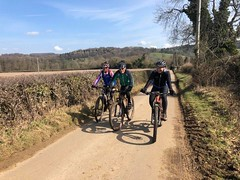 HONC course out to Hinchwick valley