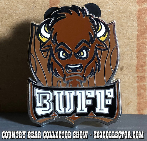 2018 Fantasyland Football Buff Pin - Country Bear Collector Show #140