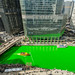 The Chicago River turns green for St. Patrick's Day. 2018 by Natasha J Photography