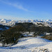 The Coniston and Langdale Fells from above Ambleside, Cumbria