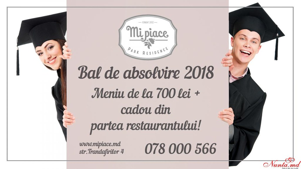 Mi Piace Park Residence > Bal de absolvire memorabil | Mi Piace Park Residence