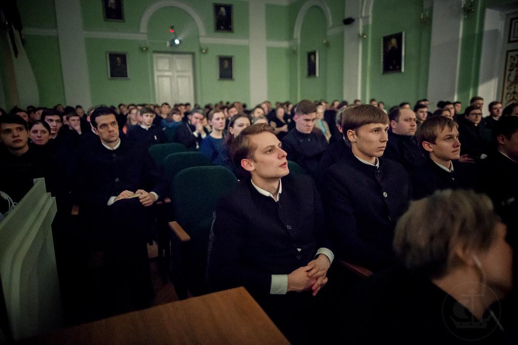 18 марта 2018, Третий исторический вечер  Духовной Академии / 18 March 2018, The third historic evening Theological Academy