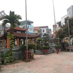 Temple next to Giang's
