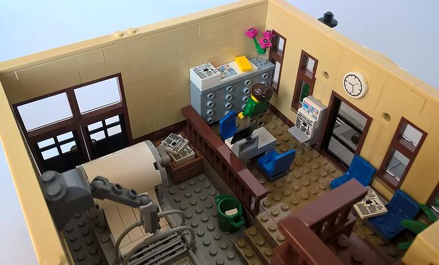 Lego City News Office